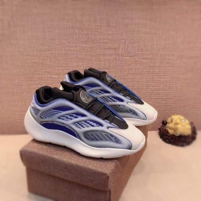 Men's Fashion Versace Medusa Wave Pattern Detail Breathable Blue Tennis White Leather Fake Patchwork Sneakers Online