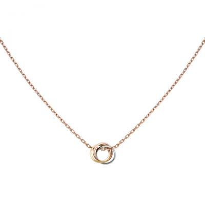 Trinity de Cartier Necklace Replica B7224574 Sterling Silver Quality With Chain UK Sale For Women