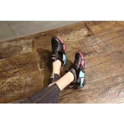 2018 Latest Balenciaga Counterfeit Lace-up K Character Medium Height Sole Sneakers Two Colors Lowest Price
