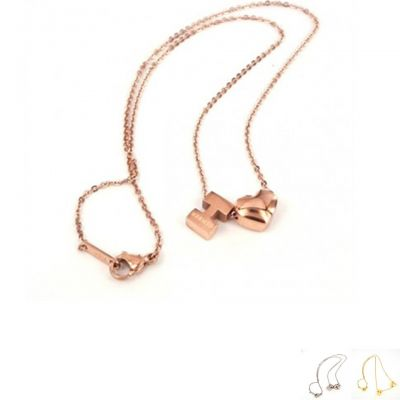 Celebrity Hermes Cube H Necklace Sale Silver/ Rose Gold/ Yellow Gold Street Fashion UK