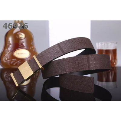 Party Style Versace Logo Embossed Calfskin Leather Strap Medusa Pattern Pin Buckle Mens Fake Casual Belt