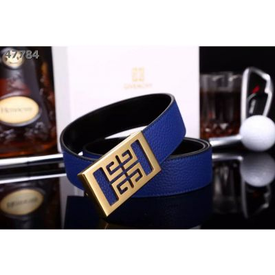 Imitation Givenchy Fashionable Logo Pin Buckle Precious Litchi Cowhide Leather Reversible Male Leisure Belt