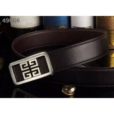 Good Reviews Givenchy Logo Pin Buckle Multicolor Leather Reversible Belt For Mens Price List