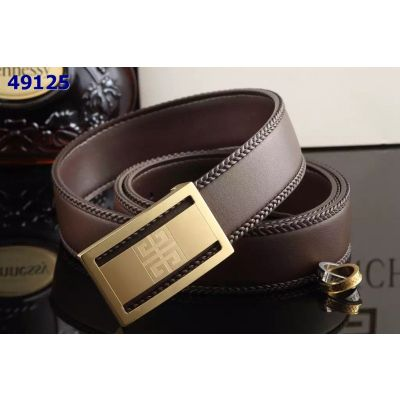 Good Reviews Givenchy Braided Edge Leather Mens Belt High End Logo Pin Buckle Replica Multicolor