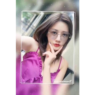 High End Panthere de Cartier Oversized Blue Lenses Popular Silver Frame Ladies Sunglasses Price In Malaysia