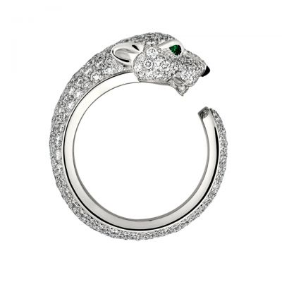 Panthere De Cartier Diamonds Engagement Ring N4225200 Luxury Sterling Silver Replica For Sale UK