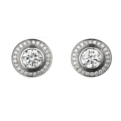 Cartier D'amour Diamonds Earrings Replica N8503000 Yellow/White/Pink Gold Colors Price UK