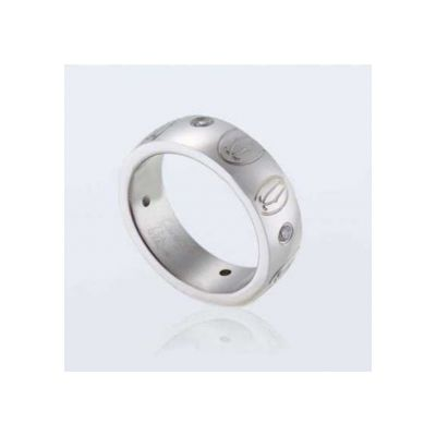 Cartier Ring Replica With Gemstones Happy Birthday Or Wedding Gift For Women