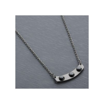 Low Price Cartier Ingot Pattern Necklaces Replicas Charming Gold Plated Female