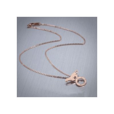 Cartier Love And Panthere Rose Gold Plated Pendant Necklace High Quality Modern Style Women Jewelry