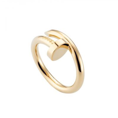 Cartier Juste Un Clou Yellow Gold Plated Nail Ring Replica B4092600 Cheapest Price New Arrival