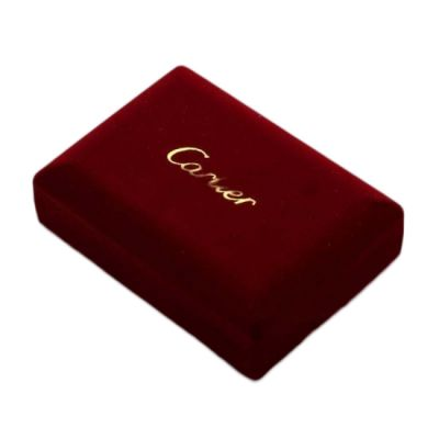 Cheap Cartier Red Jewelry Box Replica For Sale Individual Black Inner Side