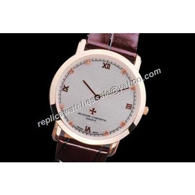 Vacheron Constantin Traditionnelle Small Lady Leather Strap 30mm Wedding Watch
