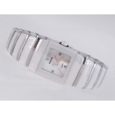 Luxury Rado  Jubile 318.0730.3.001 Sintra Mother Of Pearl White Copy Watch