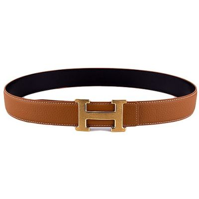 Best Price Hermes Yellow Gold H Logo Anchor Snap On Buckle Earth Yellow Ladies Leather Belt