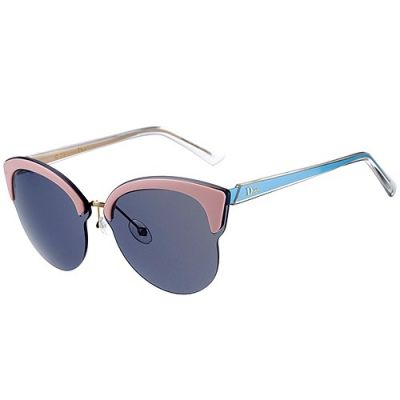 Christian Dior Eyeglasses Cat-Eye Blue Temples Colorful Girls Wholesale Celebrity Style