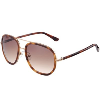 Hot Selling Tom Ford Twin-Beams Stylish Unisex Brown Flat Sunglass Sport Outdoor