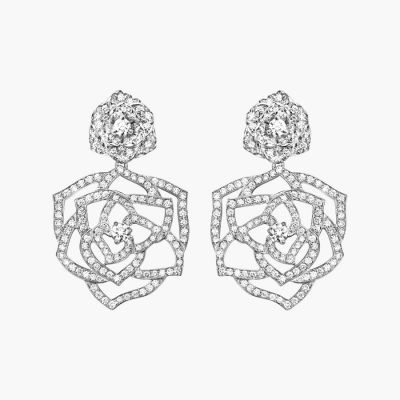 Piaget Boucles D'oreilles Rose Earrings Gorgeous Jewelry Best Birthday Gift UK Online G38U0066