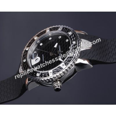 Ulysse-Nardin Marine Collection 40mm Diamond  Auto SS  Diver Faux Watch Far Lady